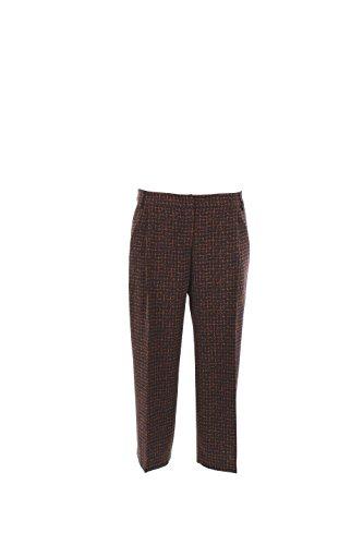 Pantalone Donna Kocca 42 Blu A16ppf346804fa0603 Autunno Inverno 2016/17