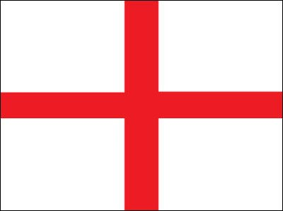 England (St. George) Flag Polyester 3 ft. x 5 ft (approx)