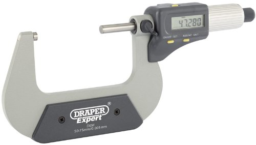 Draper 46601 50 - 75mm Digital Micrometer