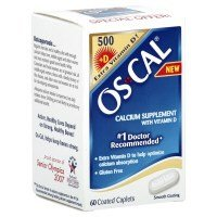 Os-Cal Calcium Supplement With Vitamin D, Coated Capsules