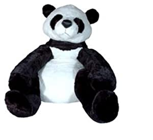 Giant Stuffed Panda Bear Over 3 Feet Tall - Grandma Gansu Panda Bear