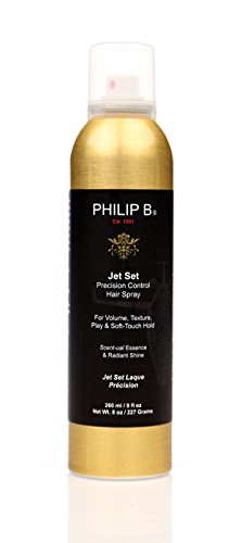 Lowest price sale on     Philips  body spray free shipping: Philip B Jet Set Hair Spray, 8 Ounce