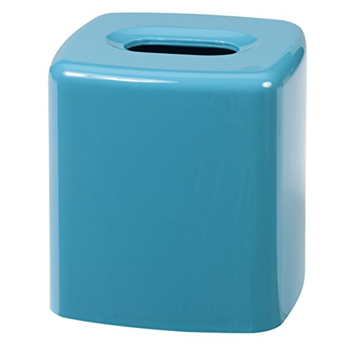 Creative Bath Products Gem Tissue Cover, Turquoise (Plastic Blue Gems compare prices)