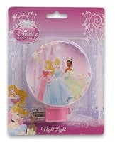 Disney Three Princess Pink Night Light front-192433