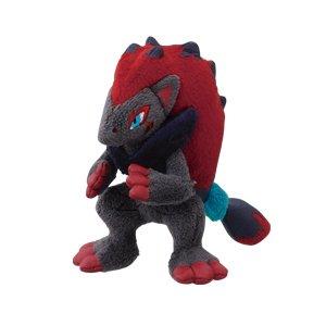 "My Pokemon Collection 4"" ZOROARK Plush Doll Toy Keychain BW MPC22 Black White 2"