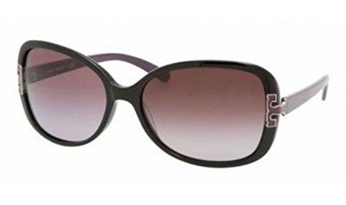 Tory BurchTory Burch Sunglasses TY7022 935/8H Black Purple/Plum Gradient 59mm