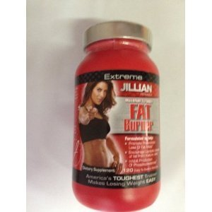 Jillian Michaels EXTREME Maximum Strength FAT BURNER 120 METACAPS