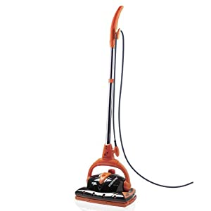 Euroflex EZ2 1200w Disinfecting Floor Steam Cleaner With Carpet Glide and 2 UPGRADED Microfiber Pads