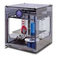 3D Touch 3D CAD Printer Double Head (color smoke) with TurboCAD Pro 19