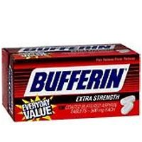 Buy Bufferin Extra Strength Tablets, Coated Buffered Aspirin - 130 ea (Bufferin, Health & Personal Care, Products, Health Care, Pain Relievers, Aspirin)