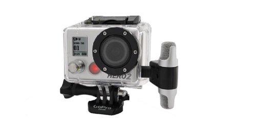 Professional Microphone Compatible With Gopro Go Pro Hero 2 - 3