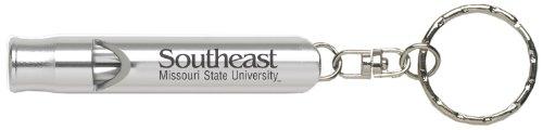 Southeast Missouri State University - Whistle Key Tag - Silver