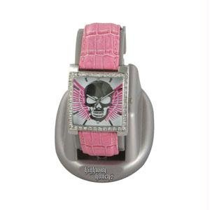 RAM Instrument RAMWHH3 Highway Honey's, Women's Watch, Pink with Skull & Wings