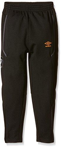 Umbro Training - Pantaloni da ragazzo nero Noir Mandarine FR : 16 anni (Taglia del produttore : 174)