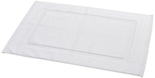 amazonbasics-tappetino-per-il-bagno-con-fascia-decorativa-colore-bianco