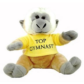 Monkey Soft Toy - Cute & Cuddly, With T-Shirt