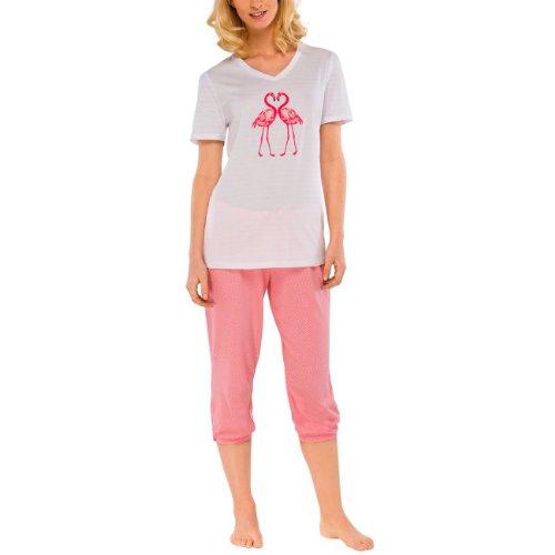 Schiesser Damen Schlafanzug Pyjama  lang  hellgrau   exklusiv