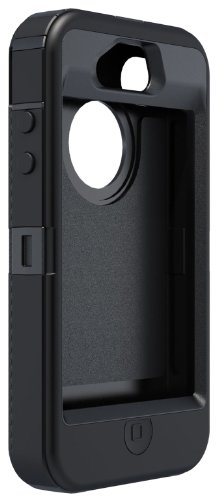 OtterBox Defender Series Hybrid Case & Holster for iPhone 4 & 4S  - Retail Packaging - Black