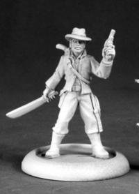 Frank Buck Adventurer Chronoscope Series Miniatures
