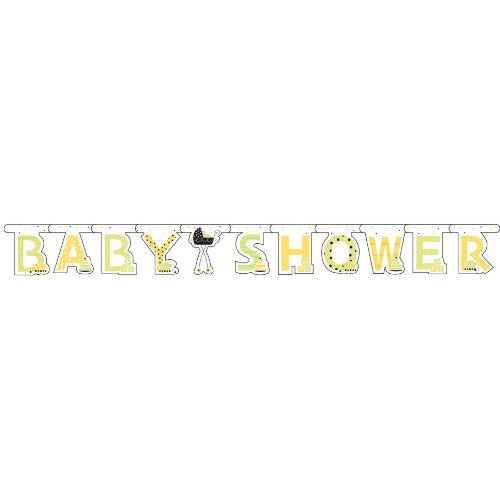 Stroller Fun Baby Shower Large Jointed Banner