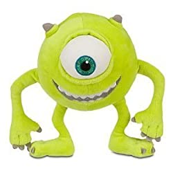 8in Mike Wazowski Plush - Monsters Inc Plush