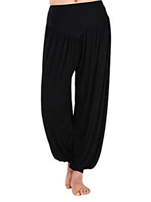 GOGO TEAM Womens Yoga Herem Pants Belly Dance Fitness Workout Pants