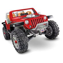 Power Wheels Fisher-Price Jeep Hurricane Ride On