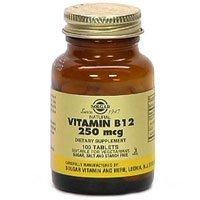 Solgar Vitamin B12 100 mcg Tablets - 100 tablets