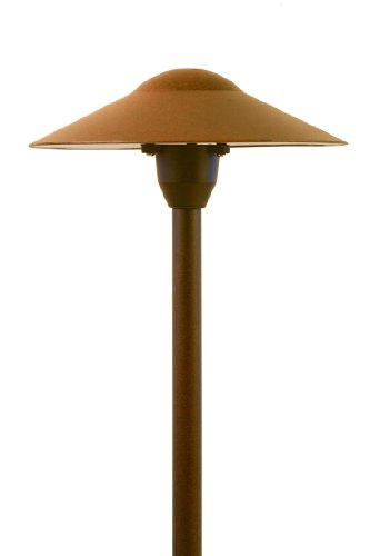 Led Low Voltage Landscape Mushroom Light Rust Finish