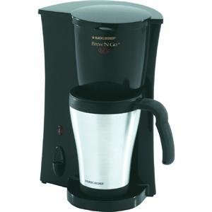Brew 'N Go Deluxe Coffeemaker with Stainless Steel Mug from Applica Consumer Products Inc