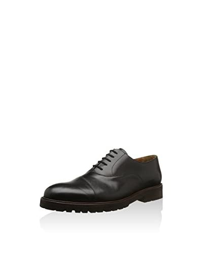 Rooster League Zapatos Oxford Costuras Negro