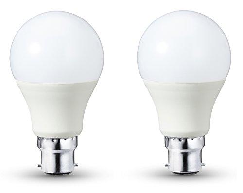 AmazonBasics - Lampadina LED B22, 10,5 W a 75 W, 1055 lumen, dimmerabile, confezione da 2