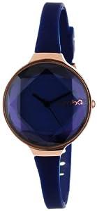 RumbaTime Women's 817466015666 Orchard Gem Sapphire Stylish Analog Watch