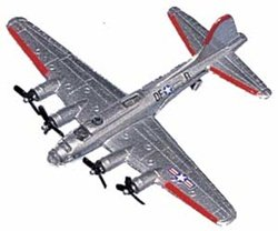 B-17 Flying Fortress Silver