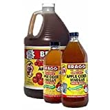 Bragg Organic Raw Unfiltered Apple Cider Vinegar, 16 Ounce -- 6 per case.