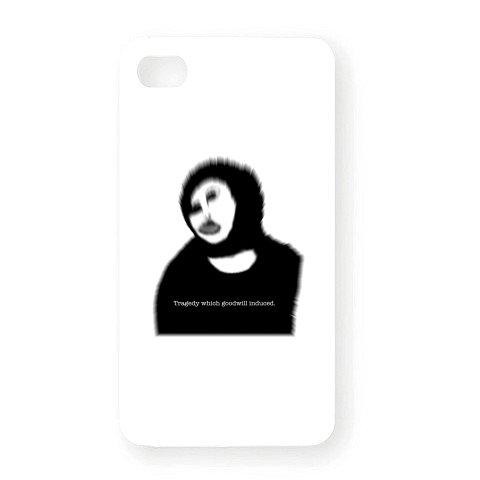 (クラブティー) ClubT キリスト壁画修復~善意が生んだ悲劇~ iPhone4Sオリジナルケース(ホワイト) ホワイト