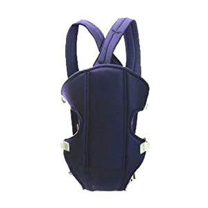 Zehui Adjustable Infant Baby Carrier born Kid Sling Wrap Rider Backpack Blue