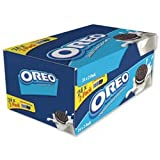 Brand New. Oreo Mini Biscuits Chocolate-flavoured Sandwich with White Filling Twin Pack Ref A03275 [Pack 48]