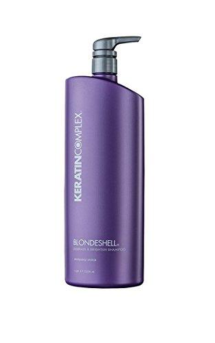 Keratin Complex Shell Blonde Shampoo - 1000 ml / 33,8 oz, Confezione 1er (1 x 1 L)