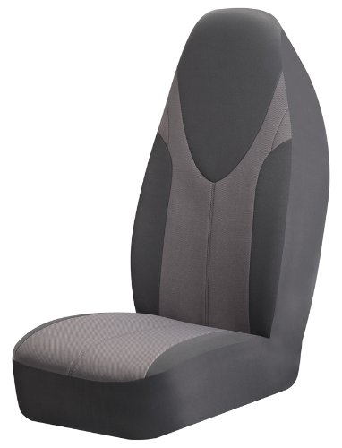 Braxton Universal Bucket Seat Cover, Grey  - Pack of 2 (Grey Universal Car Seat Covers compare prices)