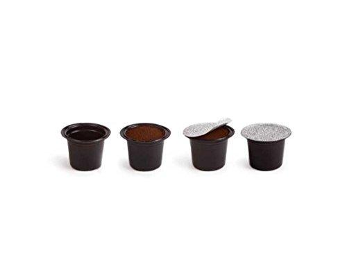 Capsul'in Capsules - Fillable Nespresso Tea Coffee Compatible Pod (50) (Refillable Filter For Nespresso compare prices)