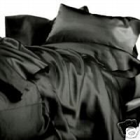 Madison Ind. NEW SATIN SHEET SET WITH PILLOWCASES at Sears.com