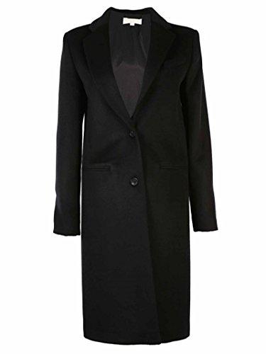 Cappotto Michael Kors MU52HABOTJ BLACK SIZE 6 misto lana