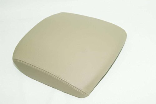 fits-2003-2008-honda-pilot-real-tan-leather-console-lid-armrest-cover-leather-part-only-by-aaauphols