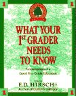 What Your 1st Grader Needs to Know:  Fundamentals of a Good First-Grade Education (The Core Knowledge Series), E.D. HIRSCH JR.
