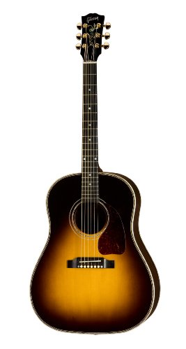Gibson J-45 Custom Acoustic-Electric Guitar, Vintage Sunburst
