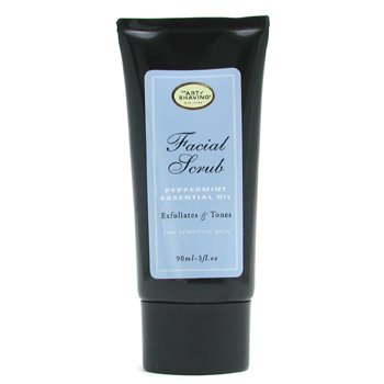 Facial Scrub - Peppermint Essential Oil ( For Sensitive Skin )