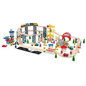 KidKraft Spiral Quarry Train Set