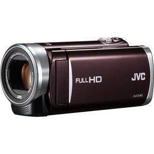 JVCケンウッド JVC EVERIO ハイビジョンメモリームービー 内蔵メモリー 8GB ブラウン GZ-E225-T