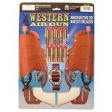 Parris Western Air Pistol Double Holster Set